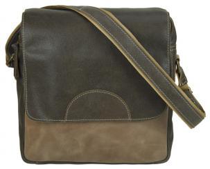 ee4e6a9ebccb9 Sunsa Tasche Schultertasche Druck used Look Umhängetasche Messender Bag  Leder