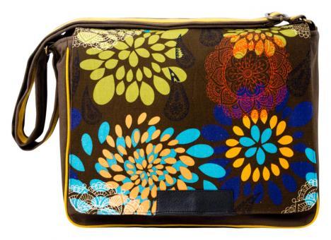Sunsa braune Messenger Tasche Canvas Tasche  Umhängetasche