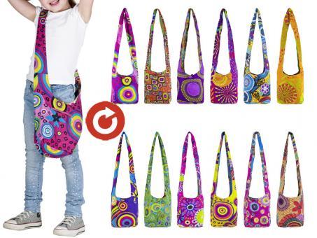 Sunsa Hobo Tasche Canvas Kindertasche Beuteltasche Stofftasche