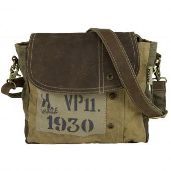 Sunsa Vintage Tasche Messengertasche Umhängetasche Schultertasche kleine Crossbody Tasche