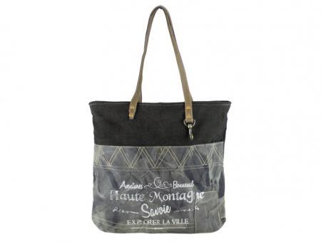 Sunsa Vintage Tasche Shopper Schultertasche