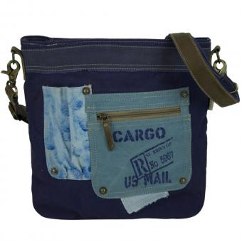 Sunsa Canvas Tasche Umhängetasche Schultertasche bedruckt Crossbodybag