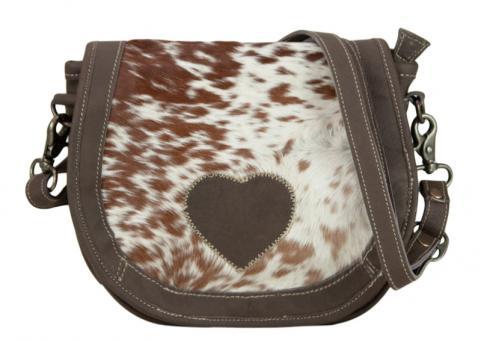 Domelo Tracht Vintage Tasche Messengertasche Schultertasche