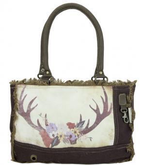 Domelo Tracht Vintage Tasche Handtasche