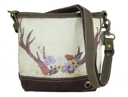 Domelo Tracht Vintage Tasche Schultertasche