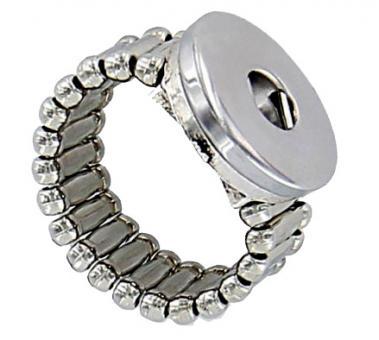 Ring click button Chunks Ring dehnbar
