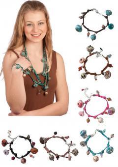 Armband Modeschmuck Baumwollperlen Baumwollband