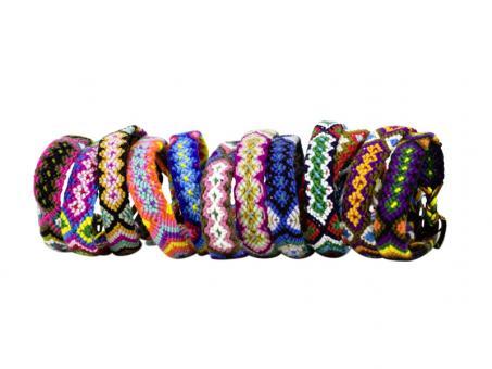 Freundschaftsbänder handgeflochten Armband Hippie