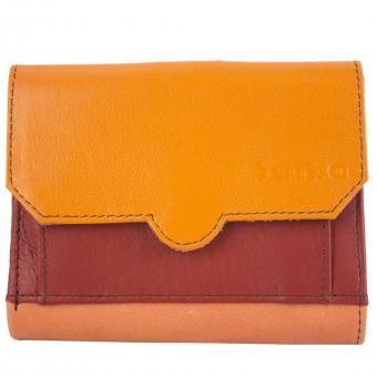 """Sunsa Creations """"Doris"""" Damen Leder Geldbörse Portemonnaie Brieftasche"""